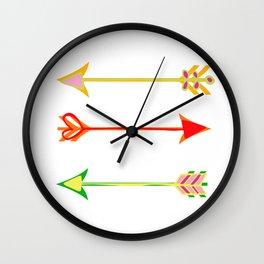 Arrow minded Wall Clock