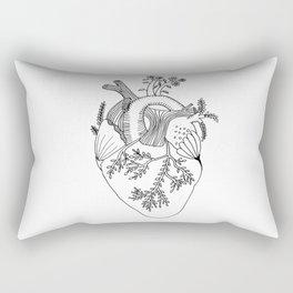 Growing heart Rectangular Pillow