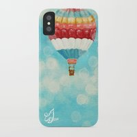 hot air balloons iPhone & iPod Cases featuring Hot Air Balloons 1 by Music of the Heart