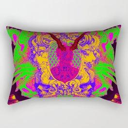 Colorful Headache Rectangular Pillow