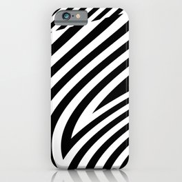 stripes wave. wow iPhone Case