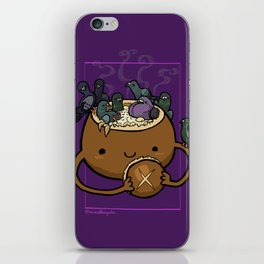 Food Series - Chowder Bread Bowl iPhone Skin