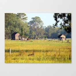 Life on the Land Canvas Print