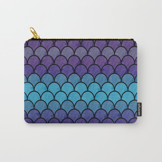 Watercolor Lovely Pattern C Carry-All Pouch