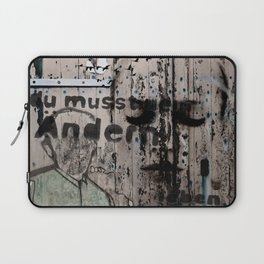 Change is a positive act Laptop Sleeve