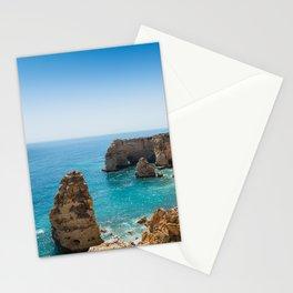 Beach at Lagoa, Algarve, Portugal II Stationery Cards