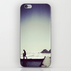 sometimes we wandered iPhone & iPod Skin