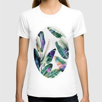 tropical T-shirts featuring tropical #1 by LEEMO