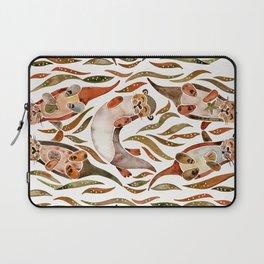 Five Otters – Sepia Palette Laptop Sleeve