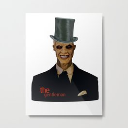 The gentlemen Metal Print