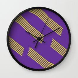 80s pattern Wall Clock