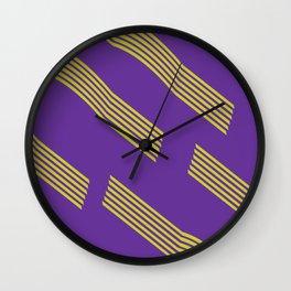 80s pattern Wall Clock