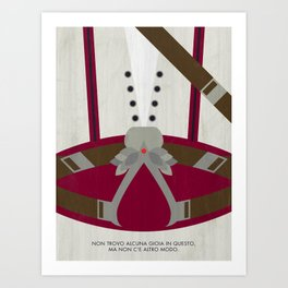 Video Game Poster: Assassin Art Print
