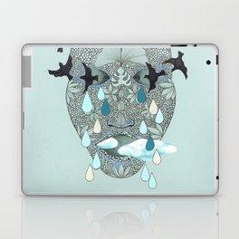 empty head. Laptop & iPad Skin