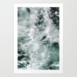 Silky Waves Art Print