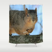 napoleon Shower Curtains featuring Napoleon by IowaShots