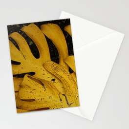 Not The Usual Fallen Leaves Stationery Cards