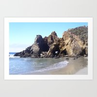 big sur Art Prints featuring Sur by Drifter