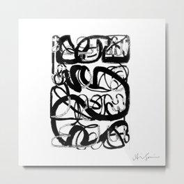 Arabic Alphabets [3] Metal Print