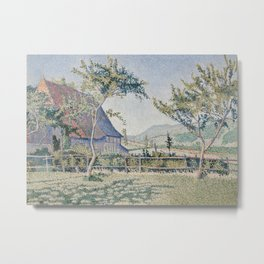 Comblat-le-Château, the Meadow Metal Print