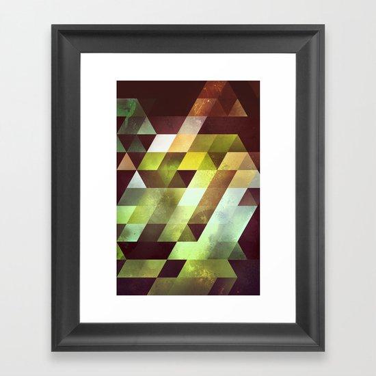 gyryk Framed Art Print