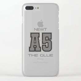 Subject A5 - The Glue Clear iPhone Case