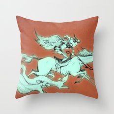 Wild Hunt Throw Pillow