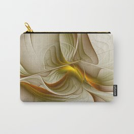 Abstract With Colors Of Precious Metals, Fractal Art Carry-All Pouch