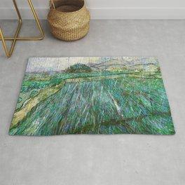 Wheat Field In Rain - Digital Remastered Edition Rug