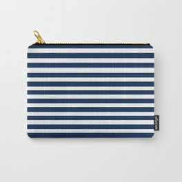 Navy-White ( Stripe Collection ) Carry-All Pouch