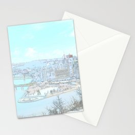Downtown Pittsburgh 1 Stationery Cards