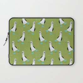 Dance of the Blue-Footed Booby Laptop Sleeve