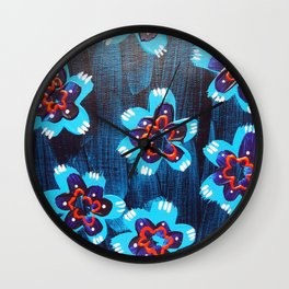 Santa Fe Rose Wall Clock