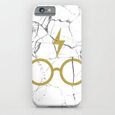 Harry P Stone White iPhone 6s Slim Case
