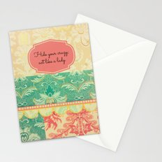 Hide Your Crazy Stationery Cards