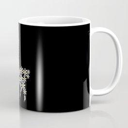 Daisy Funny Alpaca From Flowers Coffee Mug