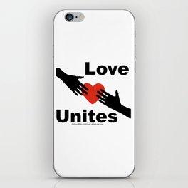 Love Unites iPhone Skin