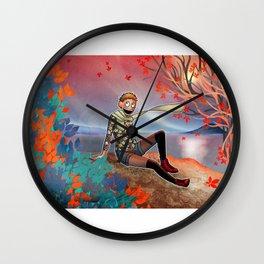 Autumn in Sweden Wall Clock