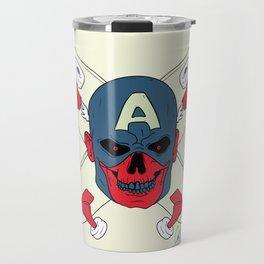Red Captain Skater Travel Mug