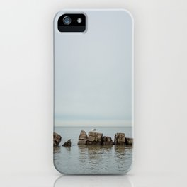 Along the Lake iPhone Case