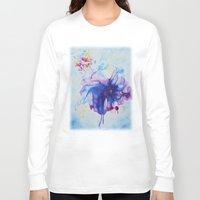 fairy tale Long Sleeve T-shirts featuring Fairy Tale by Maria Lozano - Art