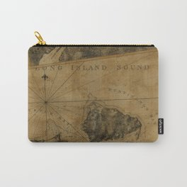 Map Of Oyster Bay 1778 Carry-All Pouch