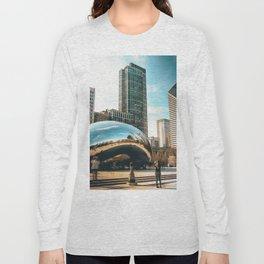 Architecture mirror art Long Sleeve T-shirt