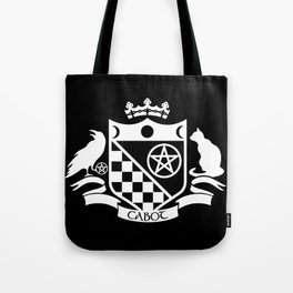 Cabot Crest Hermetic White/Black Tote Bag