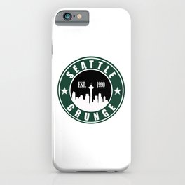 Seattle Grunge iPhone Case