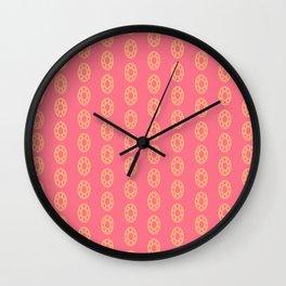 Happy Oval Gems Wall Clock