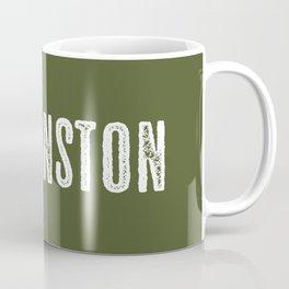 Deer: Evanston, Wyoming Coffee Mug