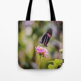 Thirsty Tropical Butterfly Tote Bag