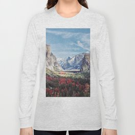 Tunnel View Yosemite Valley Long Sleeve T-shirt