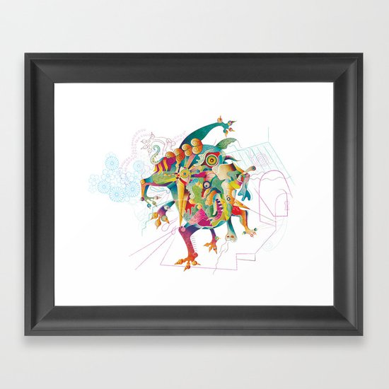The Dream Eater #2 Framed Art Print